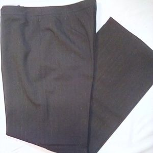 Chico's  Career Slacks Sz 2.5. w/sparkly pinstripe